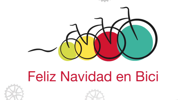 Felicitación De Navidad De La Red De Ciudades Por La Bicicleta.